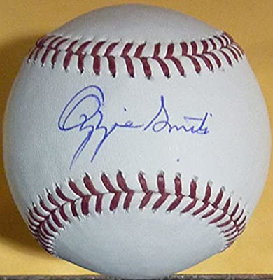 Ozzie Smith Autographed St Louis Cardinal OML Baseball (Name Only) JSA