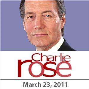 Charlie Rose: Lakhdar Brahimi, Thomas Pickering, Rula Jebreal, Jay Bilas and Willie Geist, March 23, 2011 Radio/TV Program