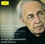 シマノフスキ:交響曲第3番/ヴァイオリン協奏曲第1番