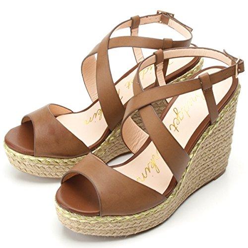 Amazon.co.jp: ブリジット バーキン(Bridget Birkin) スムース調クロスデザインウェッジサンダル: 服&ファッション小物:通販