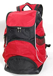Swimmer Backpack Large Swimming Backpack With Pocket For Wet Items - Red from Proximelle
