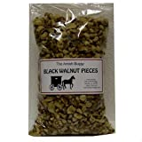 Amish Black Walnut Pieces - Two-14 Oz. Bags