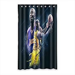 2016 Nba Kobe Bryant Blackout Curtain Custom Polyester Rings Hooks 52\