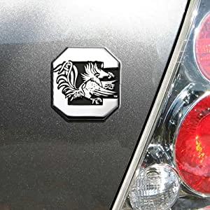 University of South Carolina Gamecocks NCAA College Chrome Plated Premium Metal Car Truck Motorcycle Emblem