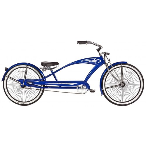 Micargi GTS Beach Cruiser Bike, Blue Puma, 26-Inch