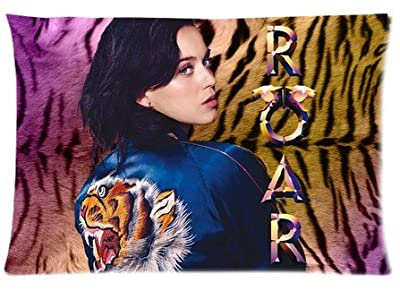 "Accurate Store American singer Katy Perry Zippered Pillow case Covers Standard Size 20""x30"" (one side)"
