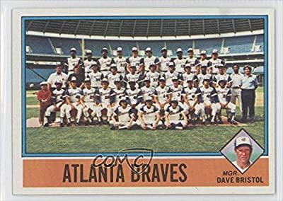 Dave Bristol; Atlanta Braves Team; Checklist (Baseball Card) 1976 Topps #631