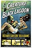 classic CREATURE FROM THE BLACK LAGOON movie poster richard CARLSON 24X36