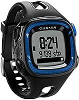 Garmin Forerunner 15 avec cardiofréquencemètre - Montre de running avec GPS intégré - noir/bleu