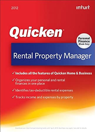 Quicken Rental Property Manager 2012 [Download] [OLD VERSION]
