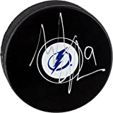 Tyler Johnson Tampa Bay Lightning Autographed Hockey Puck - Fanatics Authentic Certified - Autographed NHL Pucks