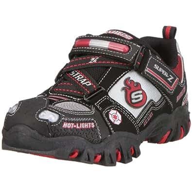 Skechers scarpe da ginnastica basse bambino nero nero for Amazon scarpe bambino
