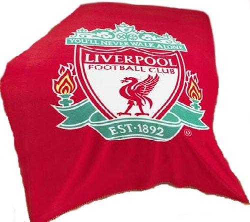 Zap Liverpool Red Crest Fleece Blanket