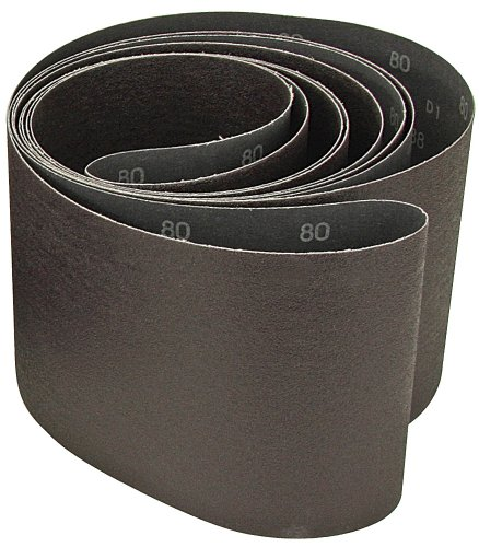 """36g Aluminum Oxide 10ea Precision Abrasives Sanding Belts: 1//2/"""" x 13/"""""""
