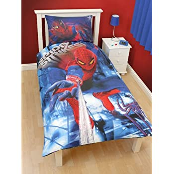 pas cher parure housse de couette linge de maison cars spiderman 3d lit 1 personne decoration. Black Bedroom Furniture Sets. Home Design Ideas