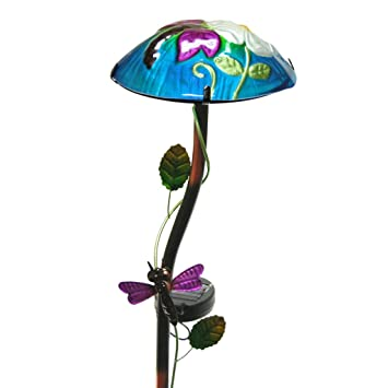 Regal Art and Gift Solar Mushroom Stake