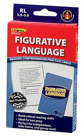 EDUPRESS Figurative Language Reading Comp Blue Level - 1