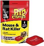 STV122 - MOUSE & RAT KILLER - 6 SACHETS + BAIT TRAYS