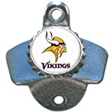 NFL Minnesota Vikings Wall Bottle Opener
