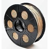 Hackka 1.75mm 1KG Wood PLA 3D Printing Filament (Color: Wood)