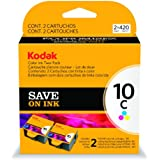 Kodak 1829993 10C Ink Cartridge Two-Pack Ink (Color)
