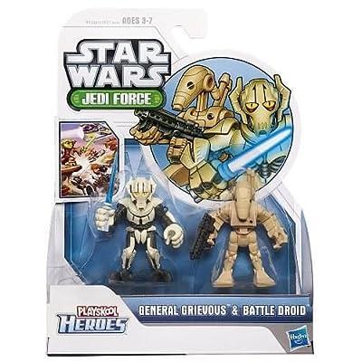 Star Wars Playskool Heroes General Grievous und Battle Droid – Jedi Force günstig bestellen