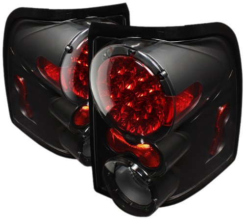 Spyder Auto Alt-On-Fexp02-Led-Bk Ford Explorer 4-Door/Mercury Mountaineer Black Led Tail Light
