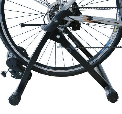 Quiet Indoor Bicycle Cycle Magnetic Foldable Turbo Trainer