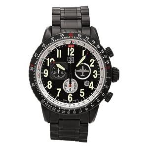 ESQ by Movado Men's Beacon Chronograph Black PVD Watch #07301239