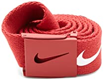 Nike Mens Tech Essential Belt, Varsity Red, One Size