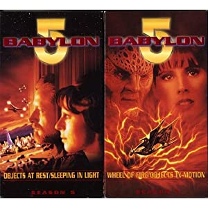 Babylon 5 - Season 5 - Journey s End (Wheel of Fire / Objects in Motion / Objects at Rest / Sleeping in Light) movie
