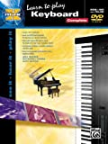 img - for Learn To Play Keyboard (Book & DVD) (Alfred's Max Series) book / textbook / text book