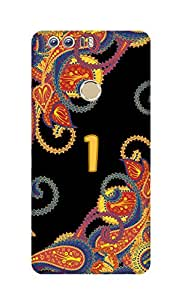 SWAG my CASE Printed Back Cover for Huawei Honor 8