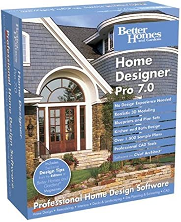 Better Homes and Gardens Home Designer Pro 7.0 [OLD VERSION]