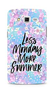 AMEZ less monday more summer Back Cover For Samsung Galaxy Grand Max
