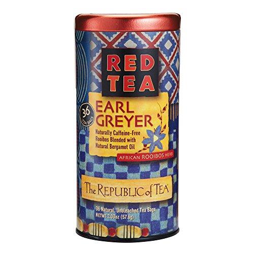 The Republic Of Tea, Earl Greyer Red Tea, 36-Count