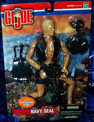 G.I. Joe Navy Seal with Exploding Mine 12