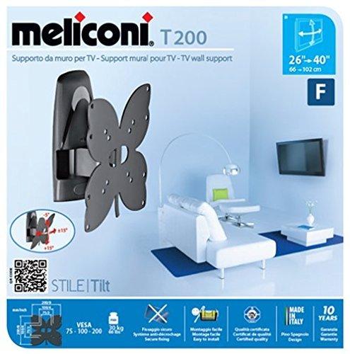 Meliconi stile t200 supporto per tv orientabile - Supporto tv motorizzato meliconi ...