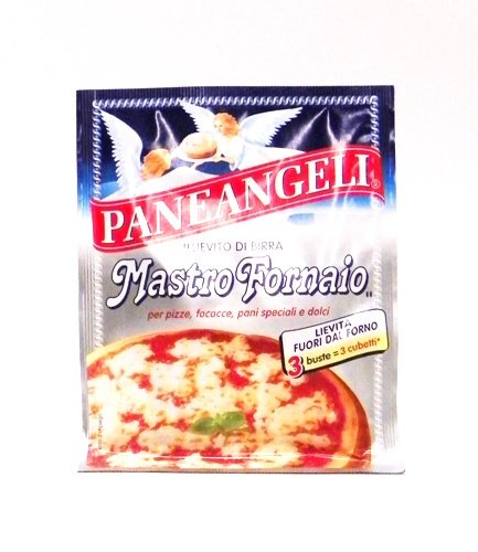 Paneangeli Mastro Fornaio Yeast For Pizza 3 Envelopes / 9 packets
