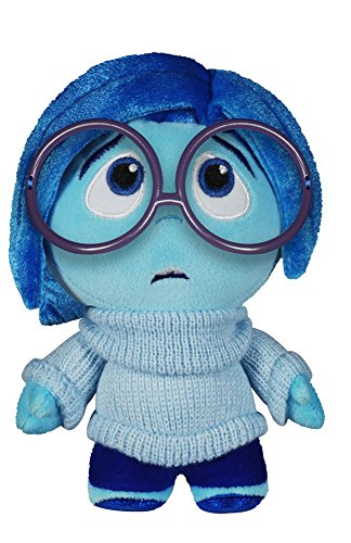 Funko - Peluche Disney - Inside Out Sadness Tristezza Fabrikations 18 cm