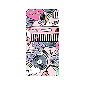 One plus 3 Cover - Hard plastic luxury designer case for one plus 3-For Girls and Boys-Latest stylish design with full case print-Perfect custom fit case for your awesome device-protect your investment-Best lifetime print Guarantee-Giftroom 331