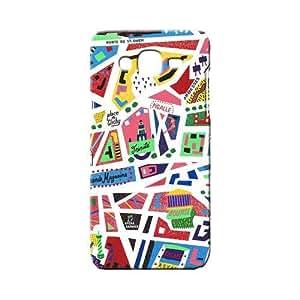 BLUEDIO Designer 3D Printed Back case cover for Samsung Galaxy A8 - G5347