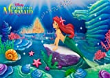 Disney Amazing 3d Greeting Card Postcard - Collectible The Little Mermaid Greeting Card -