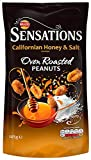Walkers Sensations Californian Honey and Salt Nuts 145 g (pack of 12)
