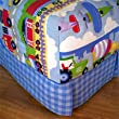 Trains, Planes & Trucks Full Cotton Comforter Hugger by Olive Kids