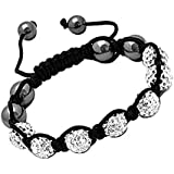 Dealz4U© HIGH QUALITY SWAROVSKI SHAMBALL BRACELET VARIOUS COLOURS