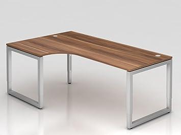 Angolo tavolo supporto o rettangolare, 200x 120cm, 90°, prugna