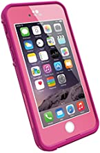 "LifeProof FRE iPhone 6 ONLY Case (4.7"" Version), Retail Packaging, POWER PINK (LIGHT ROSE/DARK ROSE)"