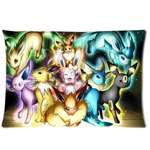 Custom-Pokemon-Pattern-19-Pillowcase-Cushion-Cover-Design-Standard-Size-20X30-Two-Sides
