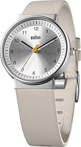 Braun - 66567 - Montre Mixte - Quartz Analogique - Bracelet Cuir Beige